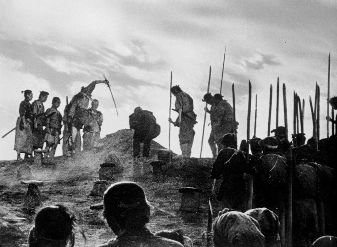 funeral_seven-samurai_1954
