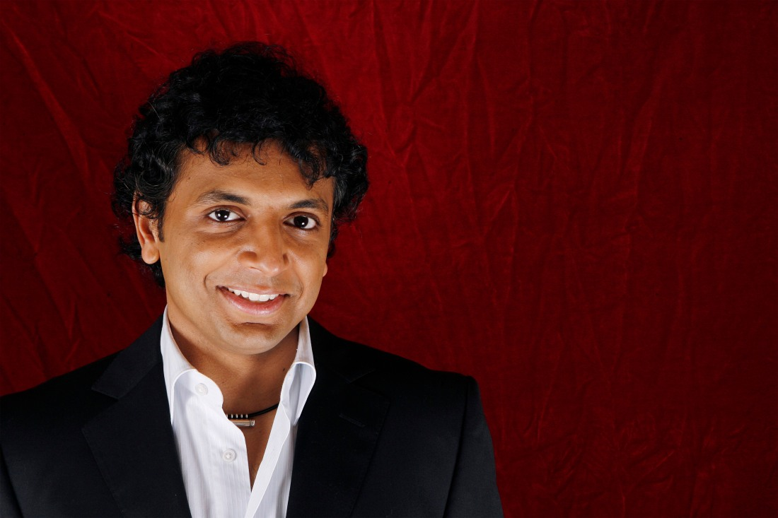 Director M. Night Shyamalan poses for a portrait during a press day promoting his new film
