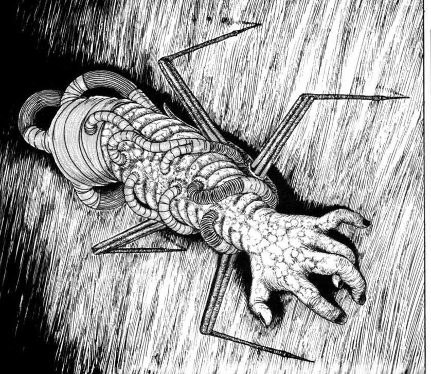 Gyo Koyanagi's Arm