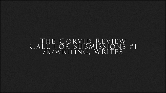 TCR r writing Call for Submissions