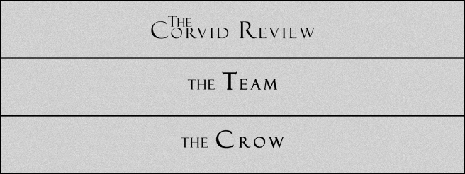 The Corvid Review - Call for Submissions (7) - The Crow