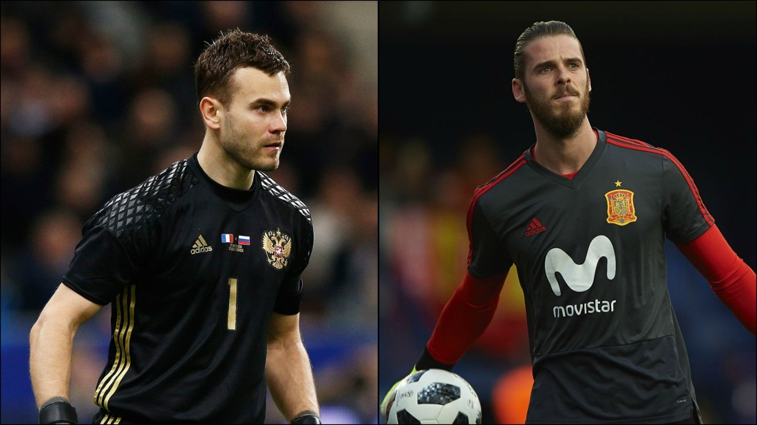 The Corvid Review World Cup Russia Spain Akinfeev De Gea Goalkeepers Round of 16