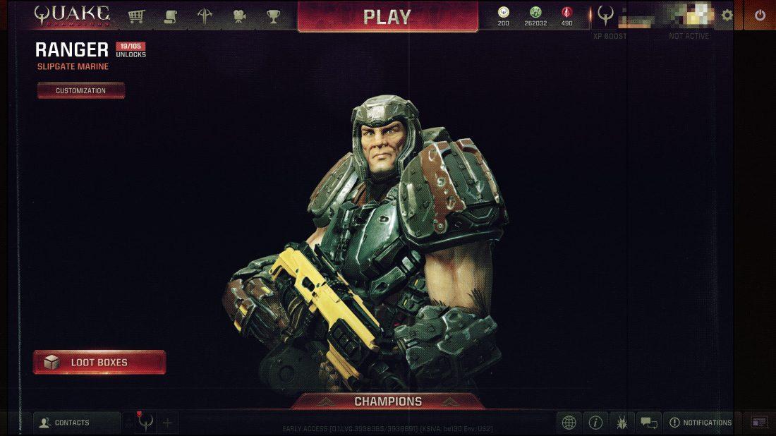 The Corvid Review - Quake Champions Ranger