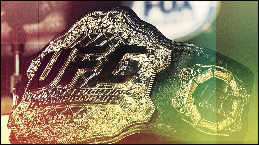 The Corvid Review - UFC 229 lightweight belt