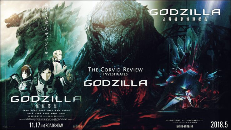 The Corvid Review - Godzilla Anime
