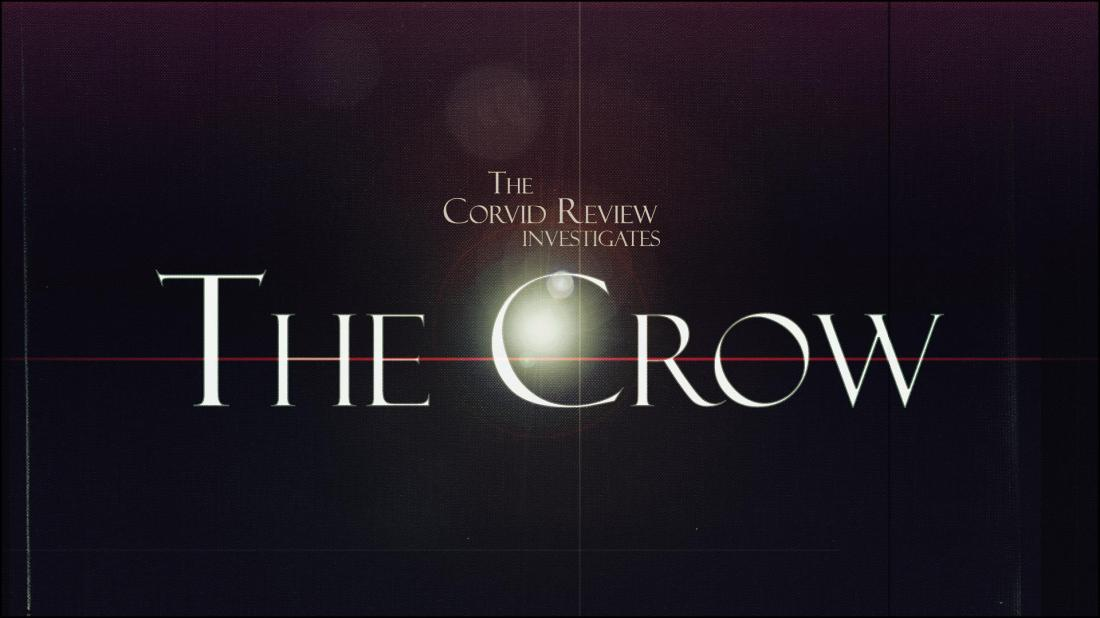 The Corvid Review - The Crow - 100 - 24 years - w7Z4OKI
