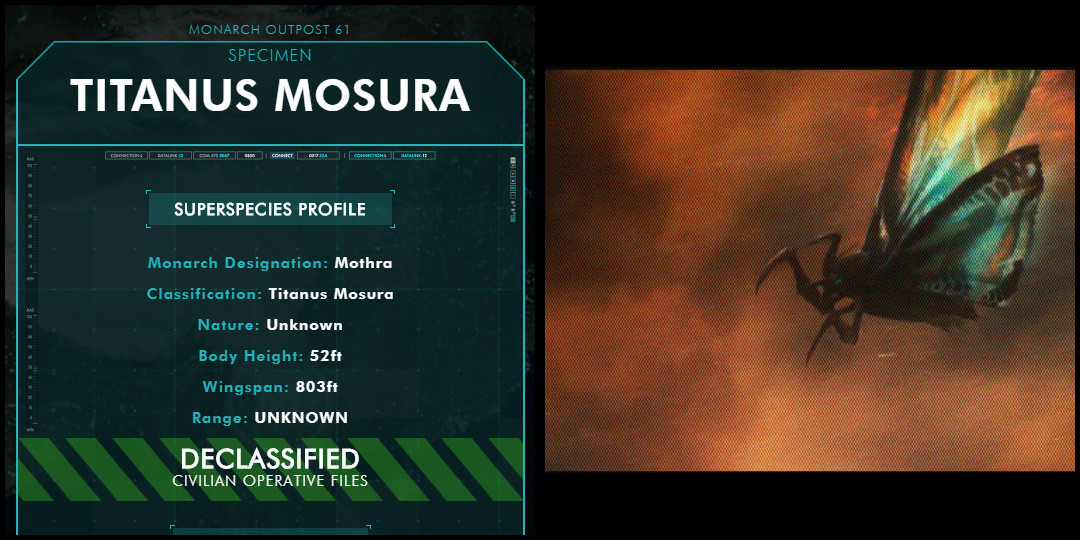 The Corvid Review - Godzilla King of the Monsters - Tale of the Tape - Mosura - M5nnD4Y