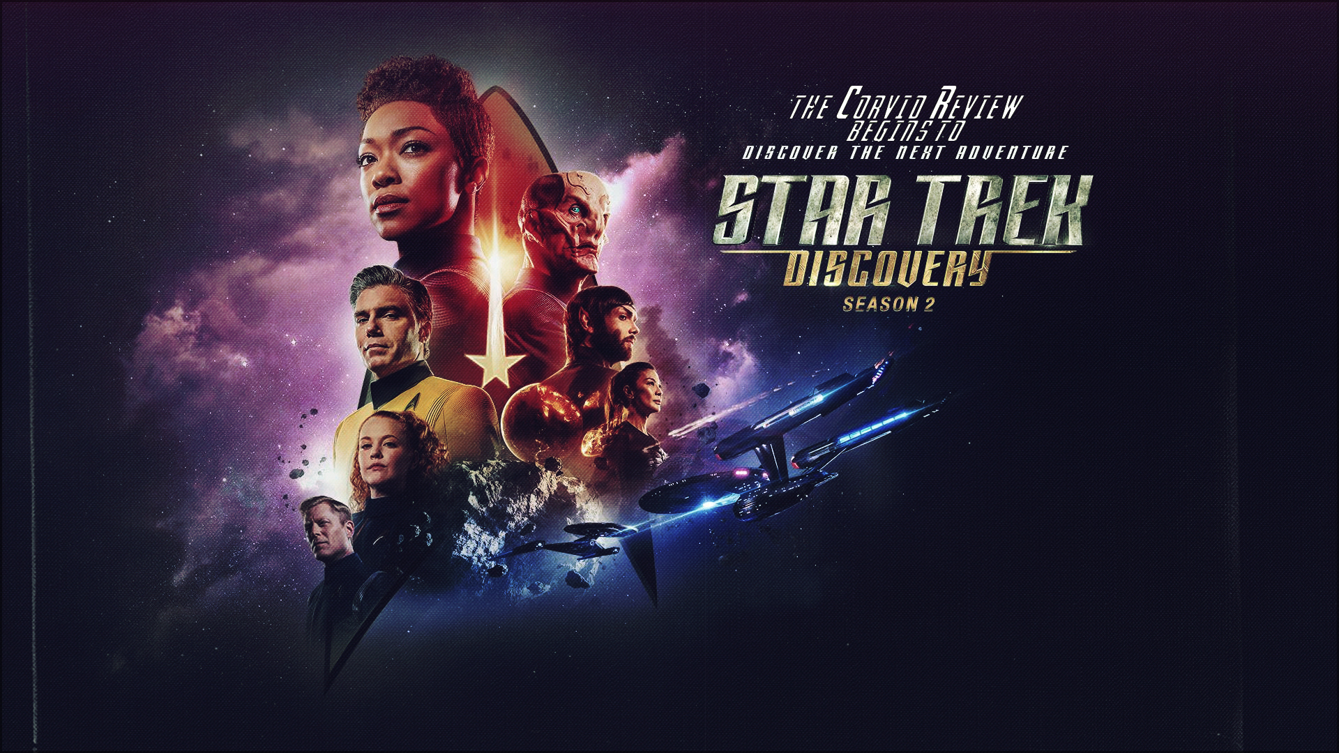 the corvid review - star trek month star trek discovery season 2 - kepxwzr
