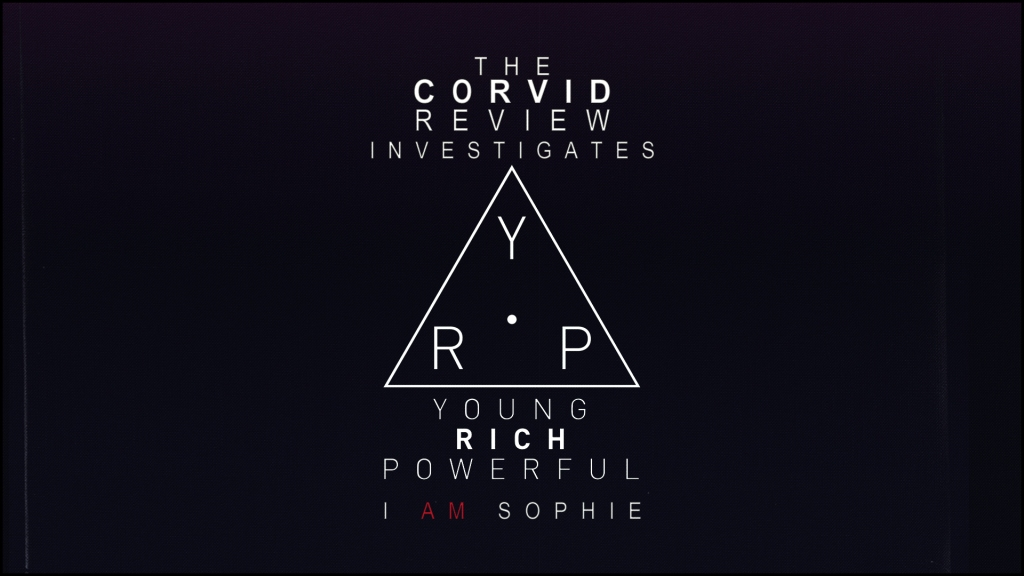 The Corvid Review investigates i am sophie