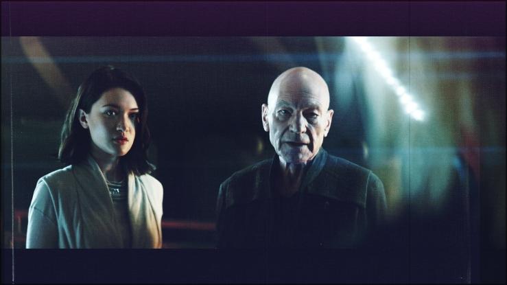 Picard and Soji Asha