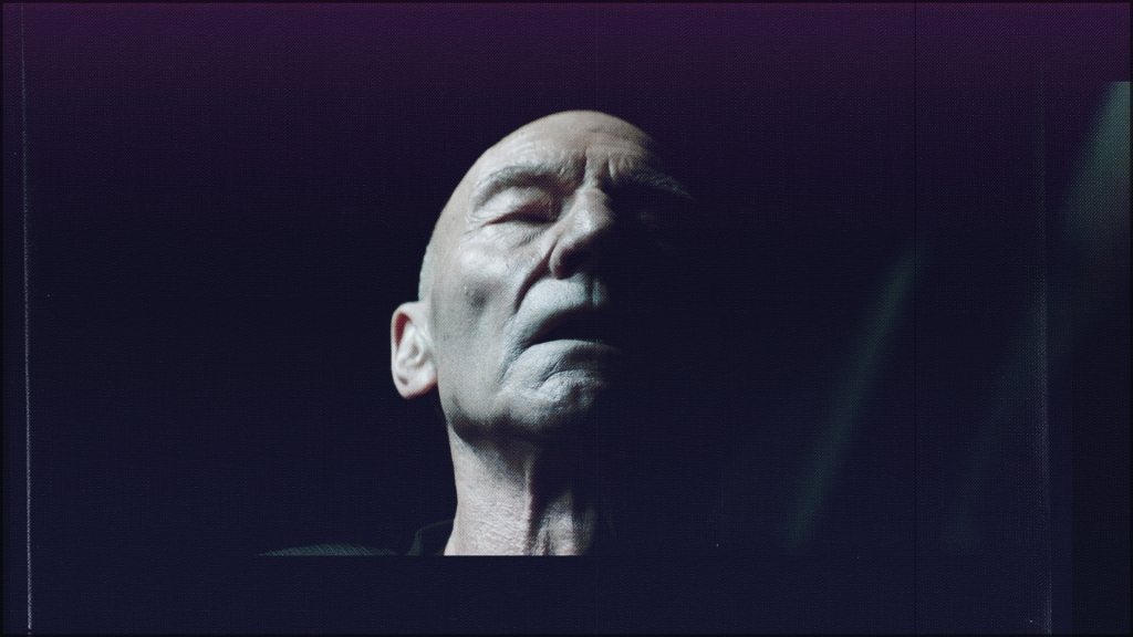 Picard after the landing